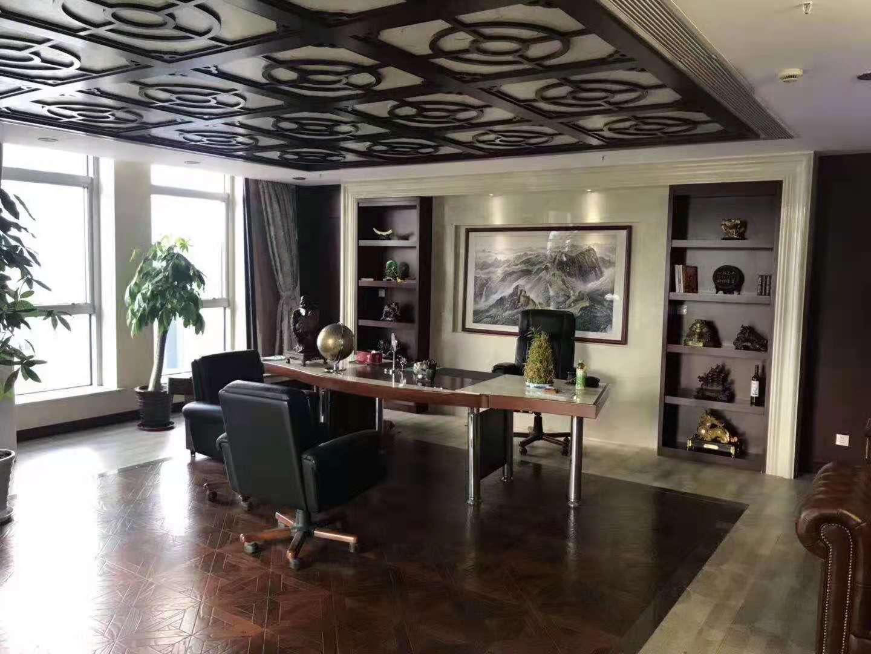 巨洋大厦出租302平办公室有装修无家具