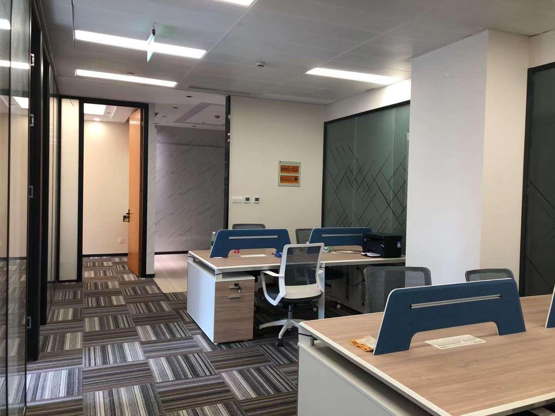中新传媒大厦出租276平办公室精装修带家具