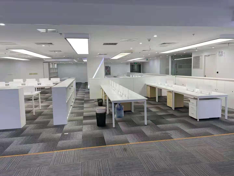 中国船舶大厦出租412平办公室精装修带家具