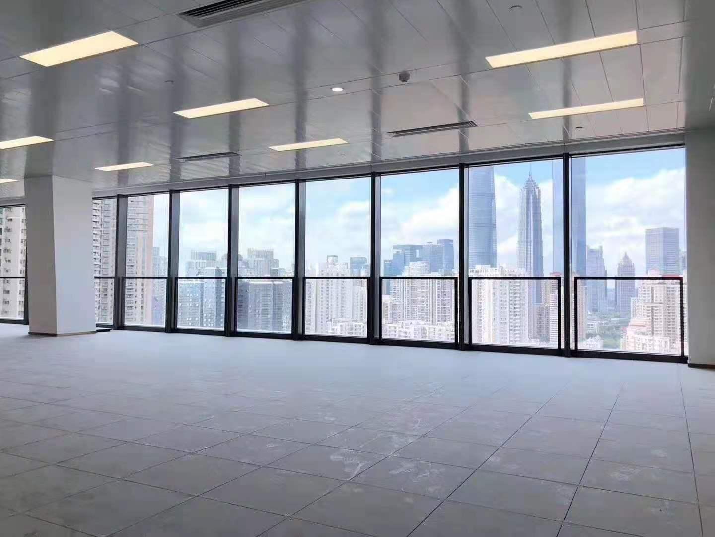 上海世茂大厦出租1105平写字楼标准交付