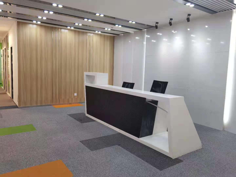 海洋大厦出租453平写字楼精装修带家具