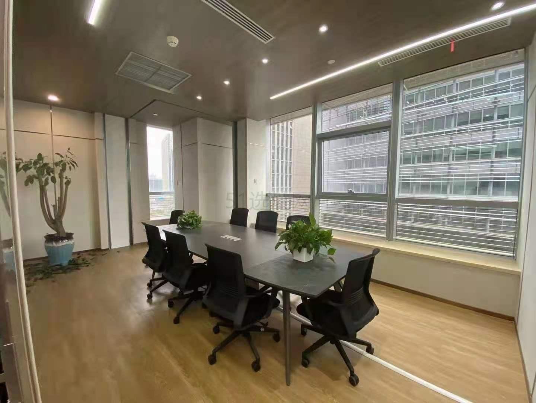 中国黄金大厦(中金上海大厦)出租321平写字楼带装修有家具