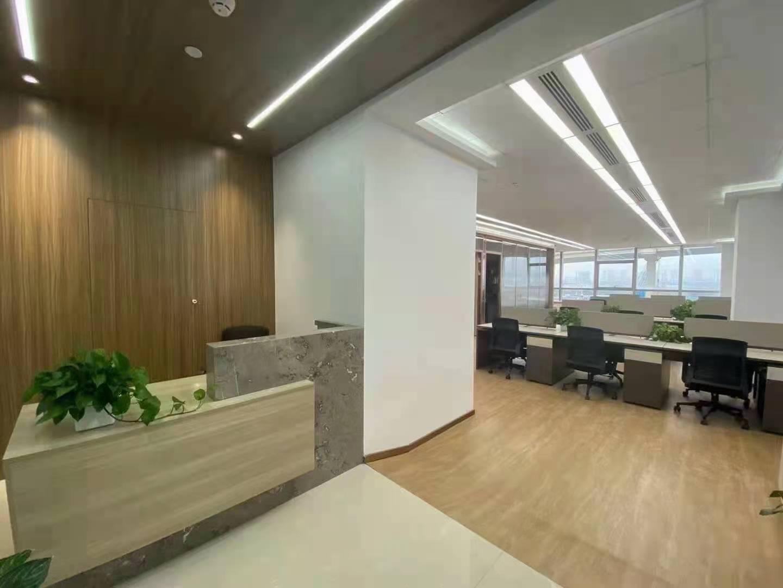中国黄金大厦(中金上海大厦)出租388平写字楼带装修有家具