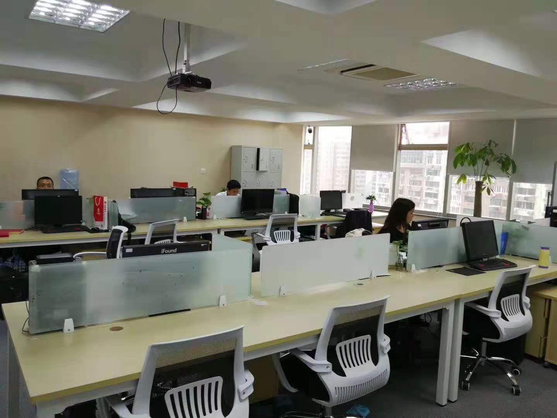 海兴广场出租530平写字楼有装修无家具
