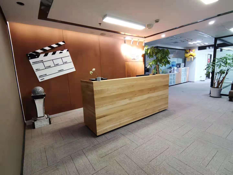电科滨江中心出租322平写字楼精装修带家具