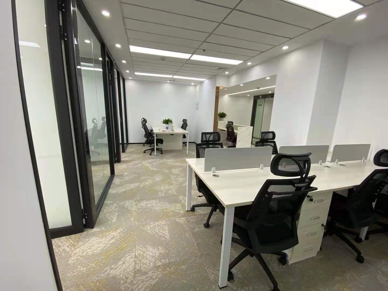 内外联大厦出租236平办公室精装修带家具