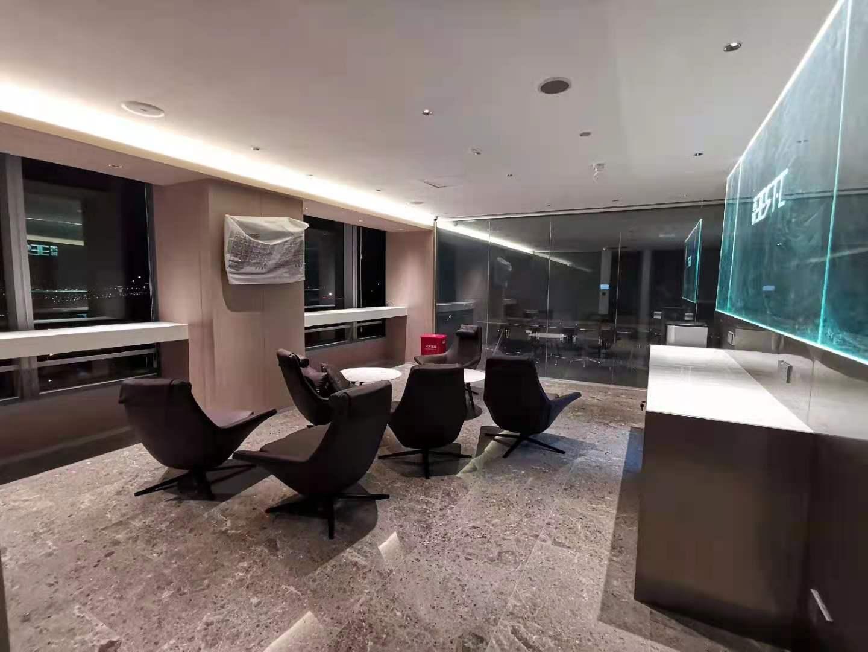 中农投大厦出租317平办公室精装修带家具