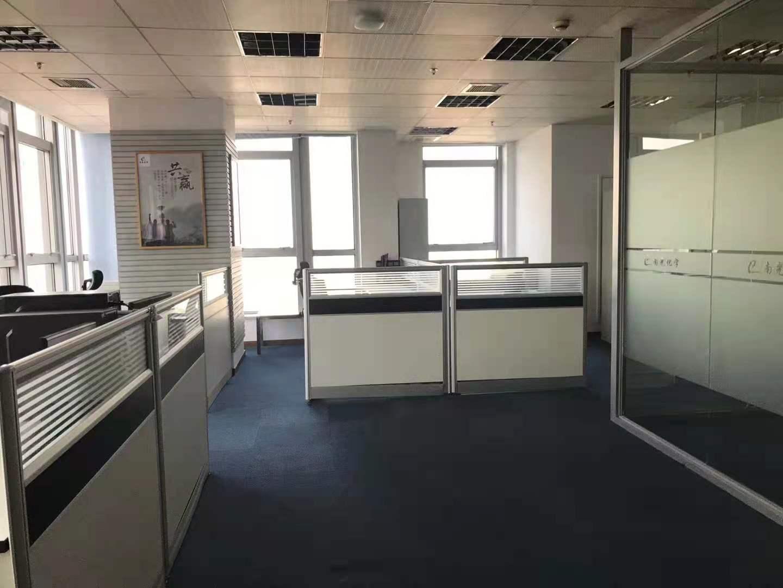 巨洋大厦出租279平办公室精装修带家具