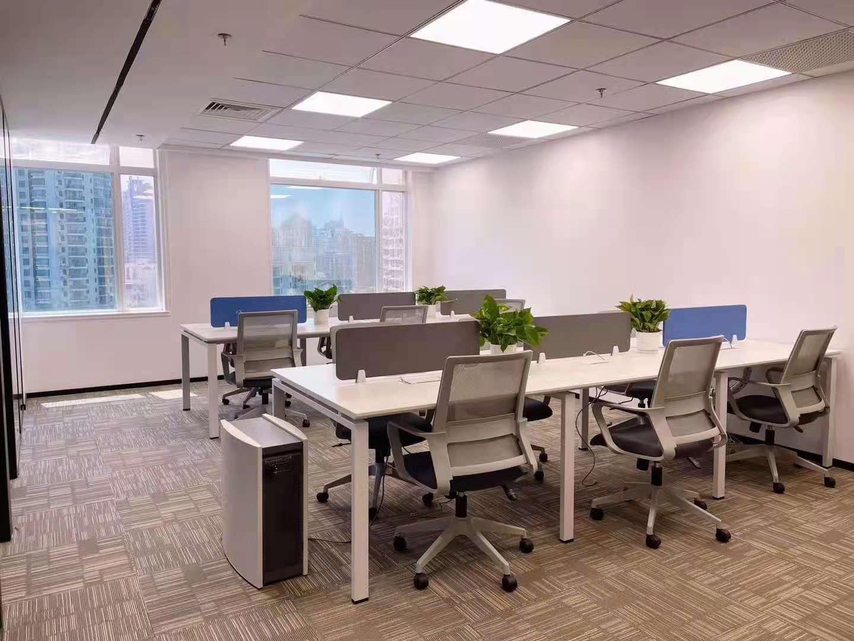 联通国际大厦出租425平写字楼精装修带家具