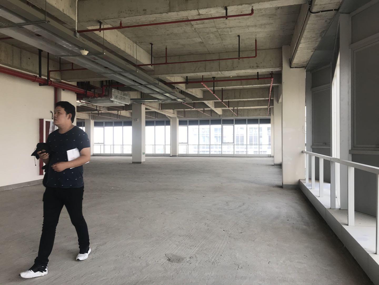浦江智慧广场出租1100平写字楼标准交付