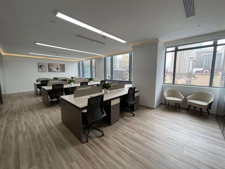 上海置地广场出租222平写字楼带装修有家具