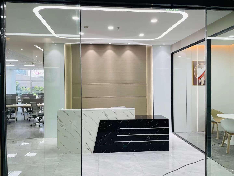 双鸽大厦出租189平办公室精装修带家具