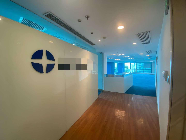 裕景国际商务广场B座出租234平办公室有装修无家具