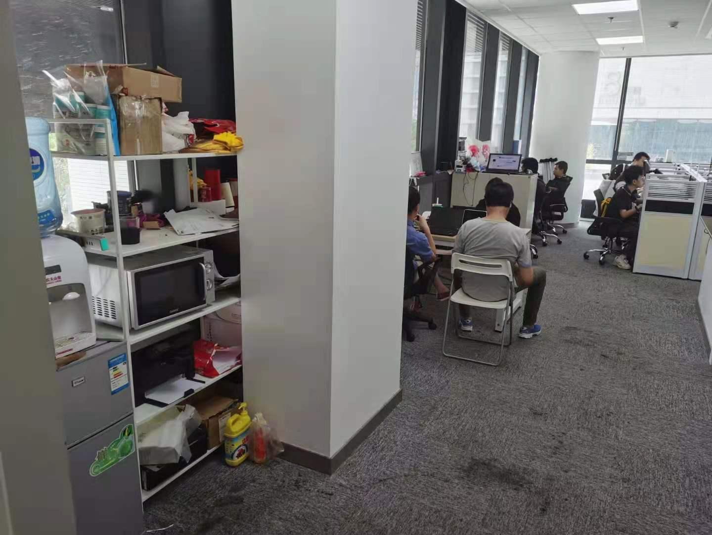 浦江科技广场出租145平写字楼有装修无家具