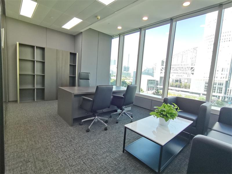 汇亚大厦出租289平办公室精装修带家具