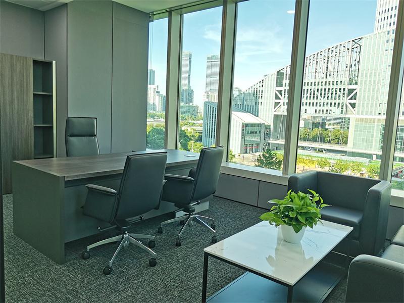 汇亚大厦出租172平办公室精装修带家具
