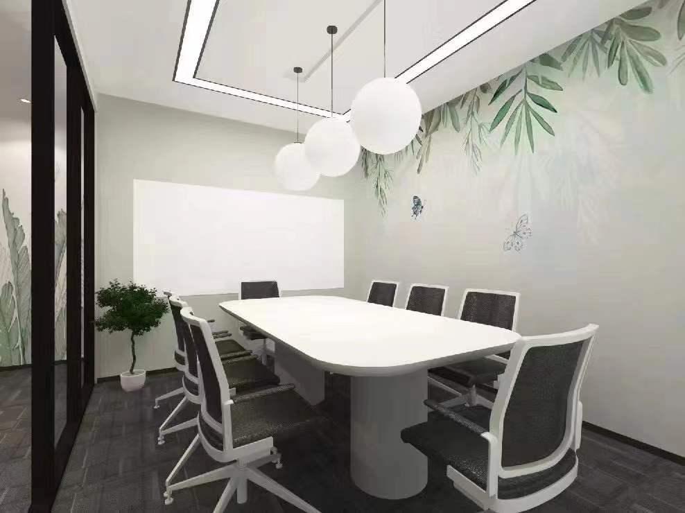 盈科律师大厦出租350平写字楼带装修有家具